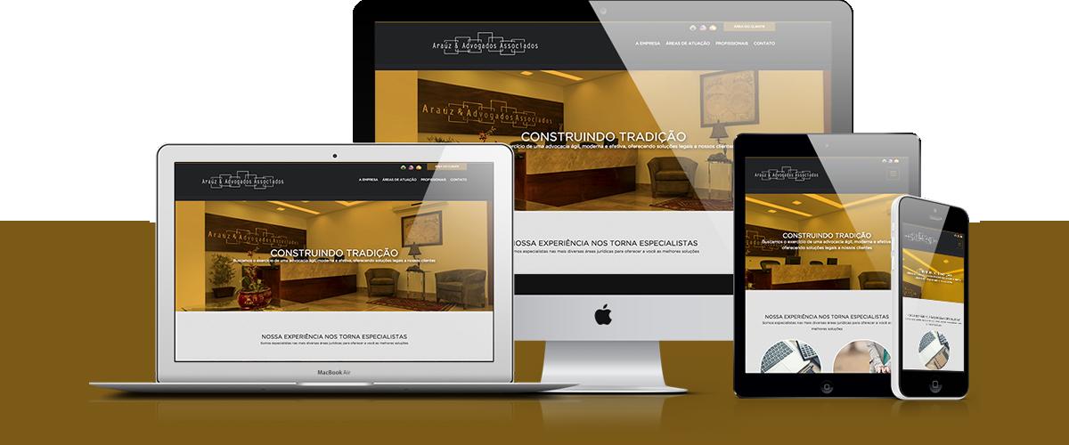 Webdesign - Araúz & Advogados Associados   Agência 904