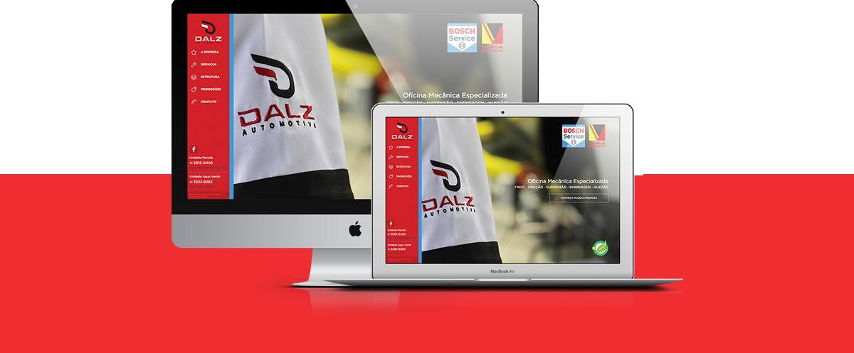 Webdesign - Dalz Automotiva   Agência 904