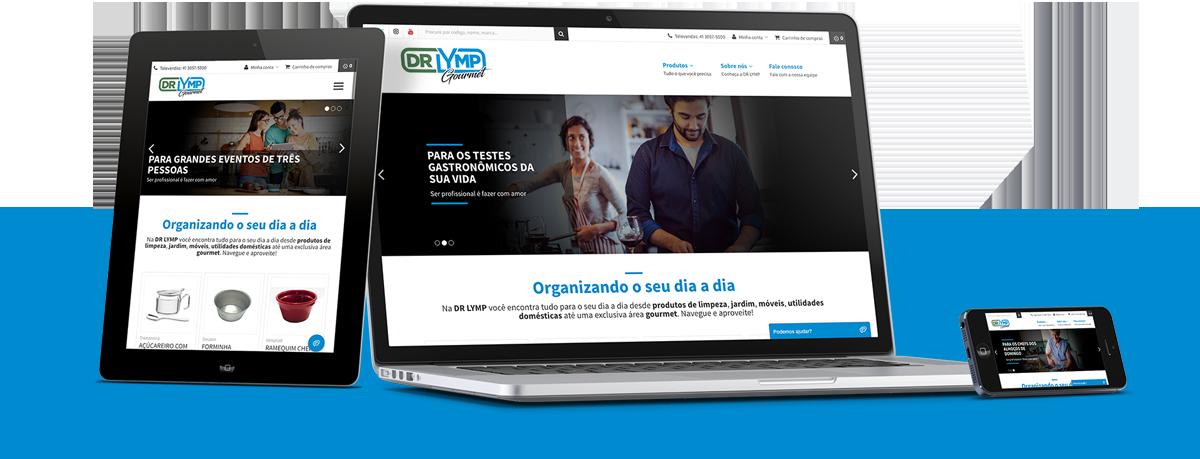 Webdesign - DR LYMP | Agência 904