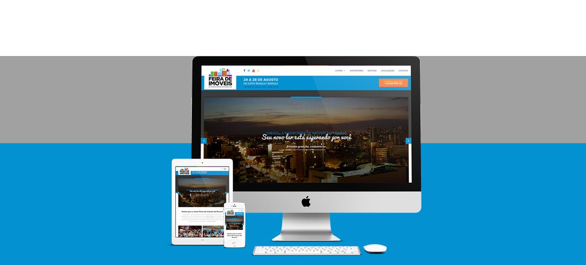 Webdesign - Feira de Imóveis | Agência 904