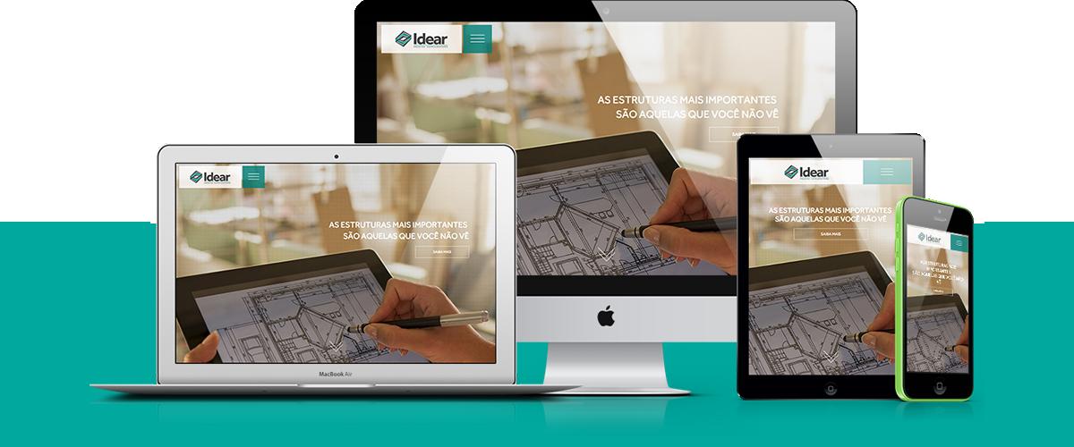 Webdesign - Idear Projetos Complementares | Agência 904