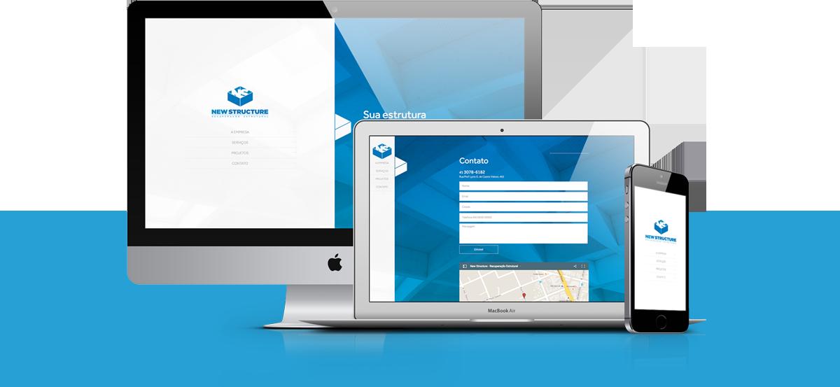 Webdesign - New Structure   Agência 904
