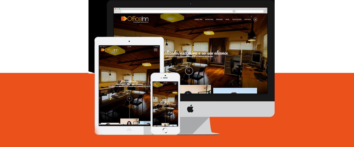 Webdesign - Office Inn | Agência 904