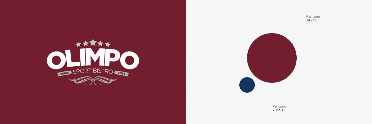 Cores - Olimpo Sport Bistrô | Agência 904