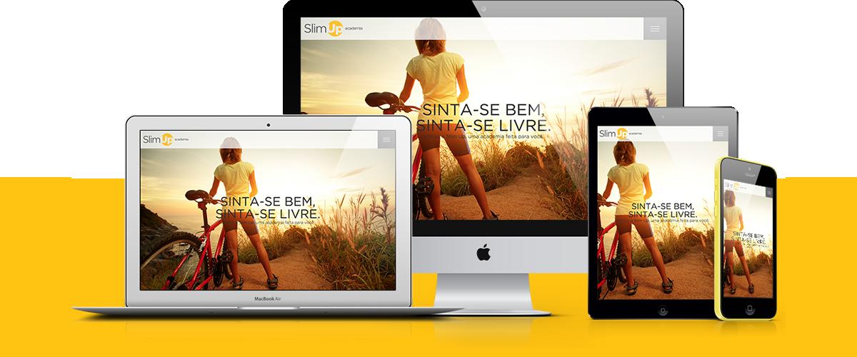 Webdesign - Slim Up | Agência 904