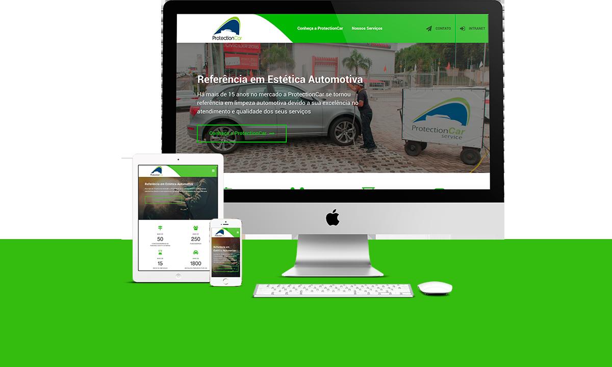 Webdesign - ProtectionCar   Agência 904